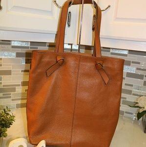 Banana Republic leather brown bag